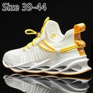 2021 New Spring Summer Men's Shoes For Men Sports Sneakers Leisure Shock Absorption Marathon Running Full Palm Air Cushion Tenis